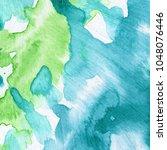 abstract artwork. watercolour... | Shutterstock . vector #1048076446