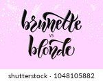 calligraphy text for t shirt... | Shutterstock .eps vector #1048105882