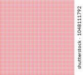 gingham seamless pattern.... | Shutterstock .eps vector #1048111792