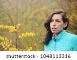 outdoor portrait of happy 40... | Shutterstock . vector #1048113316