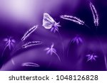 butterfly  against a... | Shutterstock . vector #1048126828