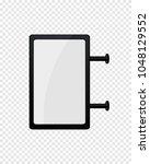 digital signage mockup | Shutterstock .eps vector #1048129552