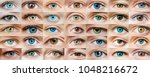 eyes are many | Shutterstock . vector #1048216672