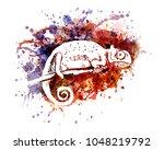 vector color illustration of... | Shutterstock .eps vector #1048219792