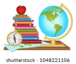 geography education... | Shutterstock .eps vector #1048221106