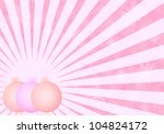 pink christmas background with... | Shutterstock . vector #104824172
