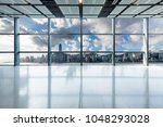 panoramic skyline and buildings ... | Shutterstock . vector #1048293028