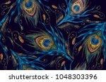 fashionable template for design ... | Shutterstock .eps vector #1048303396