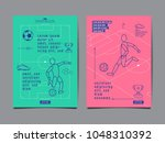 template sport layout design ... | Shutterstock .eps vector #1048310392