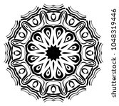 modern decorative cicle vector... | Shutterstock .eps vector #1048319446