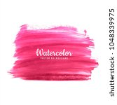 abstract pink hand draw... | Shutterstock .eps vector #1048339975
