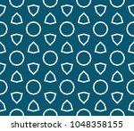 traditional geometric seamless... | Shutterstock .eps vector #1048358155