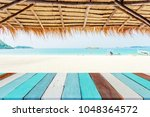 counter on the beach | Shutterstock . vector #1048364572