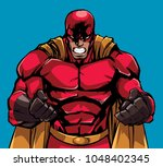 illustration of raging...   Shutterstock .eps vector #1048402345