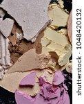 texture of broken pink  brown...   Shutterstock . vector #1048420132