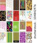 Set Of Twenty Colorful Various...