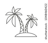 palm rest icon | Shutterstock .eps vector #1048460422