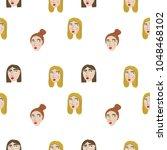 girl power vector illustration ... | Shutterstock .eps vector #1048468102