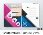 a4 size  abstract modern...   Shutterstock .eps vector #1048517998