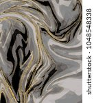 gold marble  artistic covers... | Shutterstock .eps vector #1048548338