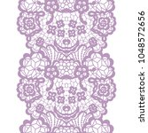 gentle lacy vintage elegant... | Shutterstock .eps vector #1048572656