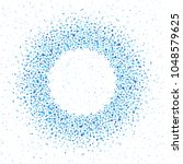 round dots frame  border made...   Shutterstock .eps vector #1048579625