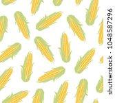 vector illustration. sweet corn....   Shutterstock .eps vector #1048587296