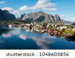 reine  lofoten  norway | Shutterstock . vector #1048603856