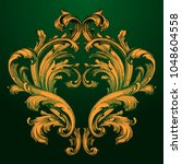 classical baroque vector of... | Shutterstock .eps vector #1048604558