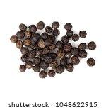 Black Pepper Peas Isolated On...