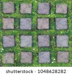 vector seamless texture gray... | Shutterstock .eps vector #1048628282