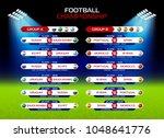 football championship match... | Shutterstock .eps vector #1048641776