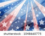 red white and blue background... | Shutterstock . vector #1048660775