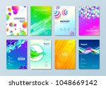 set of different style design... | Shutterstock .eps vector #1048669142