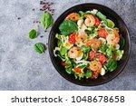 Healthy Salad Plate. Fresh...