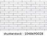white ceramic tiles wall ... | Shutterstock . vector #1048690028