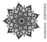 mandalas for coloring book....   Shutterstock .eps vector #1048702826