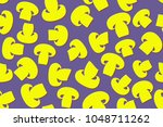 seamless pattern of the... | Shutterstock .eps vector #1048711262