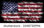 united states of america smoke... | Shutterstock . vector #1048730996