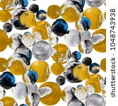 watercolor seamless pattern... | Shutterstock . vector #1048743938