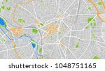 art map city dijon | Shutterstock .eps vector #1048751165