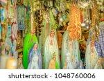 fatima  portugal   august 15 ... | Shutterstock . vector #1048760006
