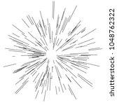 sun burst  star burst sunshine. ... | Shutterstock .eps vector #1048762322