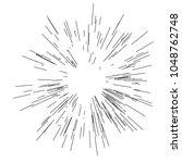 sun burst  star burst sunshine. ... | Shutterstock .eps vector #1048762748