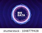 abstract big data illustration. ... | Shutterstock .eps vector #1048779428