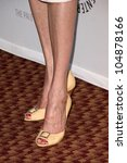 Small photo of Brenda Strong's shoes at 'Desperate Housewives' presented by the Twenty-Sixth Annual William S. Paley Television Festival. Arclight Cinerama Dome, Hollywood, CA. 04-18-09