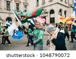 london   uk   03 17 2017 ... | Shutterstock . vector #1048790072