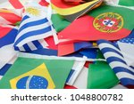 flags of all nations of the... | Shutterstock . vector #1048800782