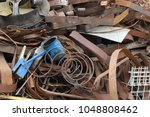 metal pile for recycling