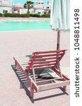 beautiful seashore vacation on... | Shutterstock . vector #1048811498